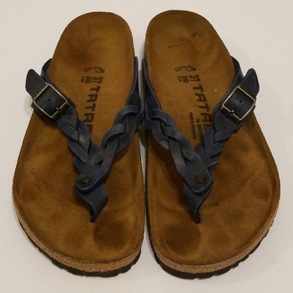 3872c4f50d3c Birkenstock Shoes - Birkenstock Tatami Adria Braided Flip Flops
